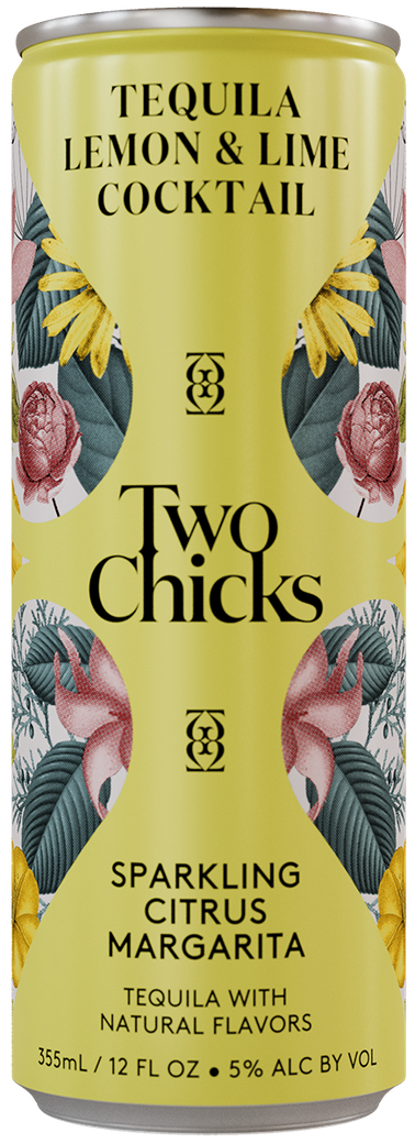 two chicks margarita can