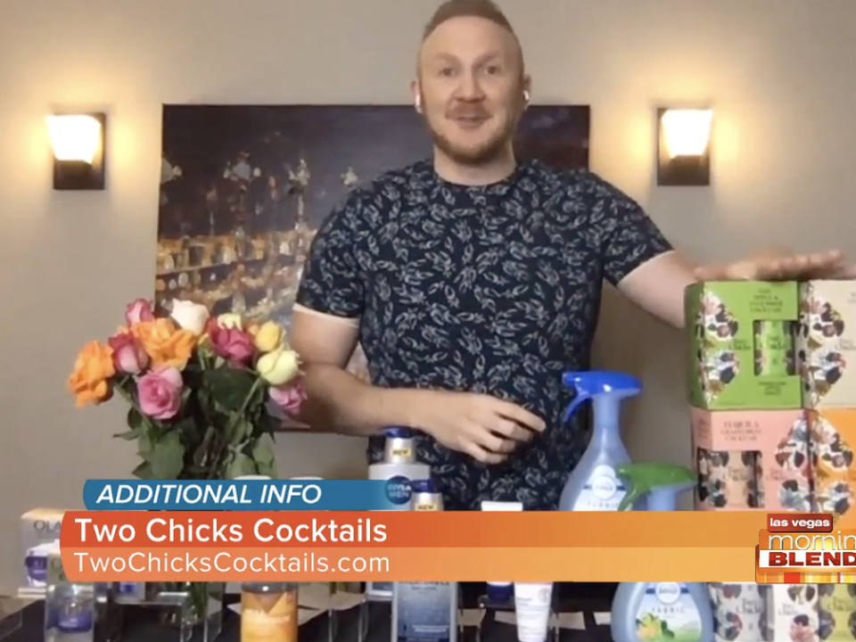 Fall Essentials with Entertainment Host and Lifestyle Expert Josh McBride and Two Chicks Cocktails