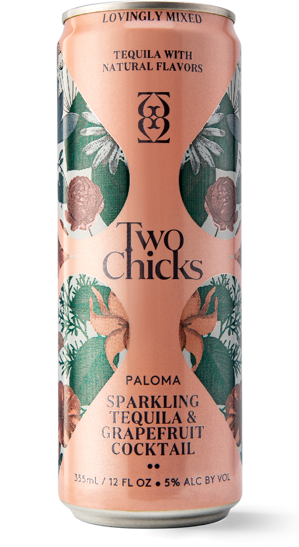 two chicks paloma canned cocktail