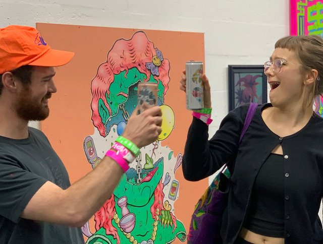 Two Chicks Canned Cocktails and Art Basel 2019, Miami