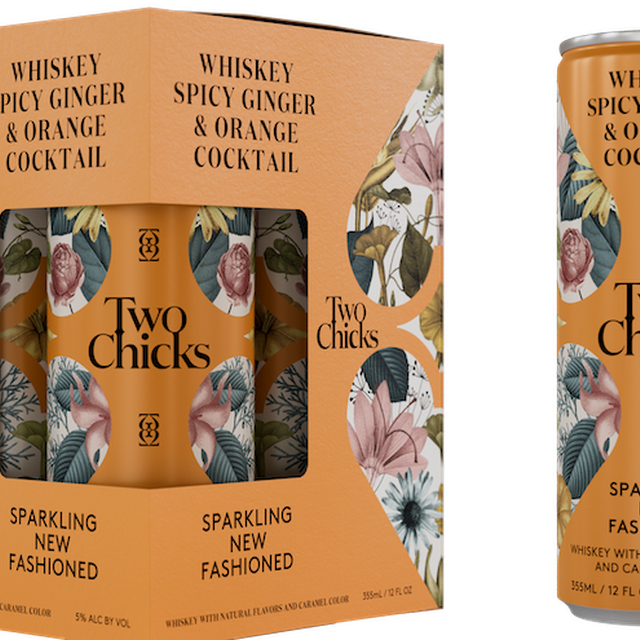 Two Chicks - New Fashioned Canned Cocktail