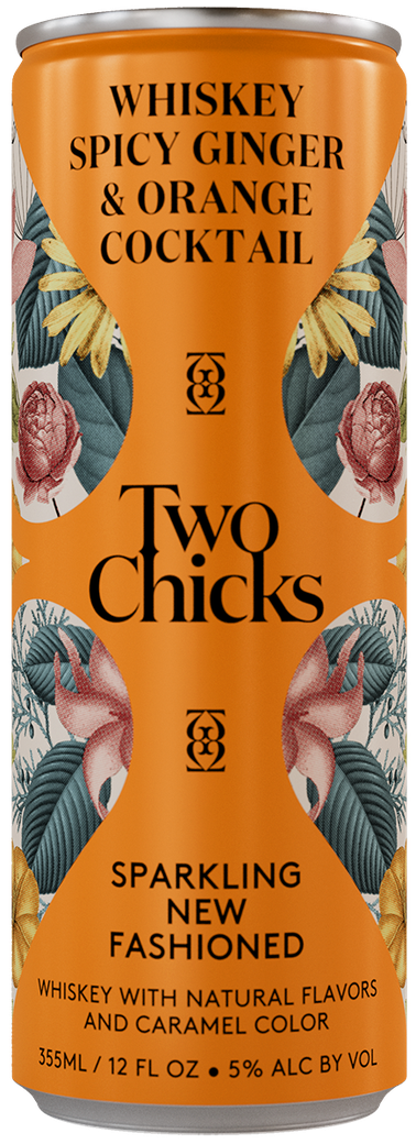 two chicks new fashioned can